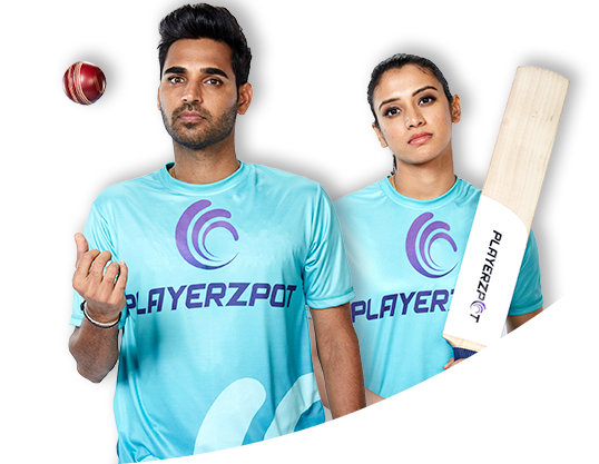 Playerzpot fantasy cricket desktop banner