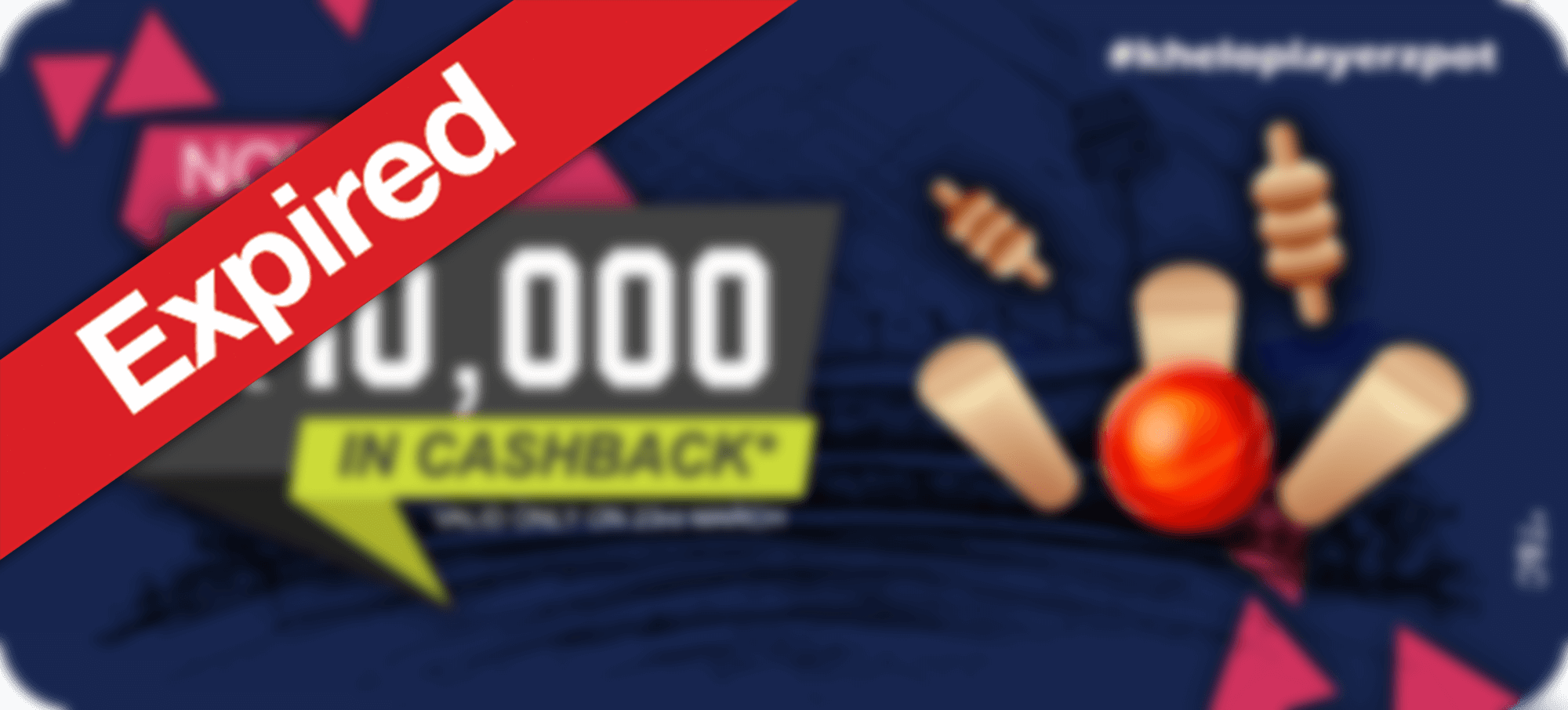 12% Cashback- Indian PlayerzPot League Offer.