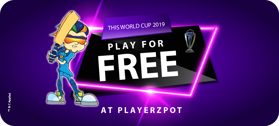 Play for free offer - PlayerzPot