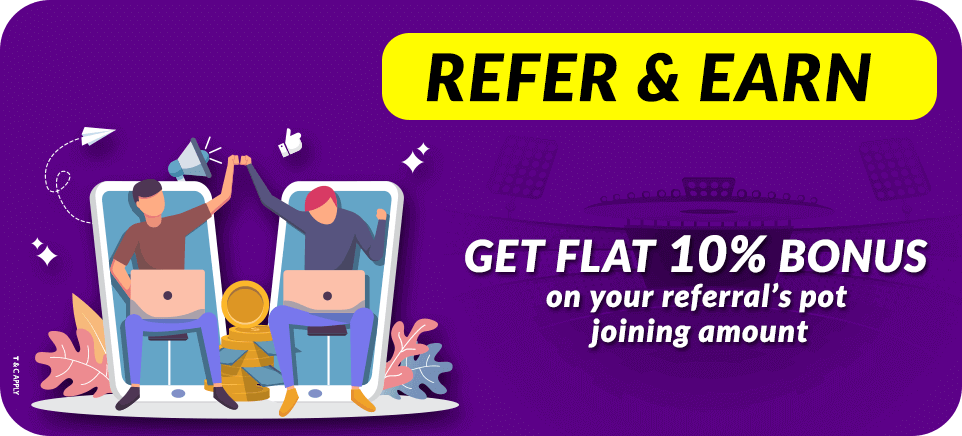 Refer and Earn Offer | PlayerzPot
