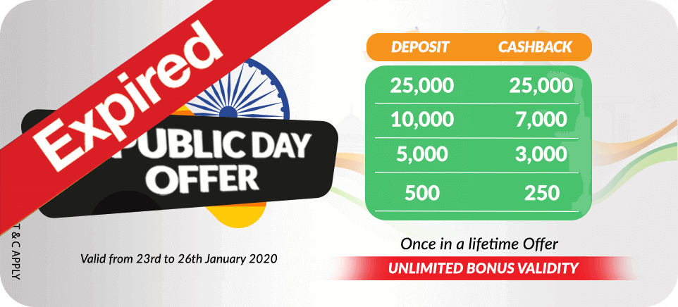 Republic Day Offer | PlayerzPot