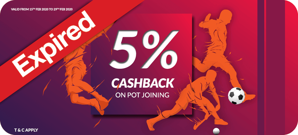 Sports Cashback Offer | PlayerzPot