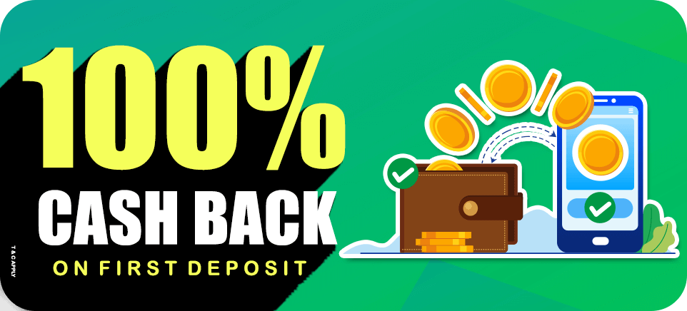 100% Cashback On First Deposit | PlayerzPot
