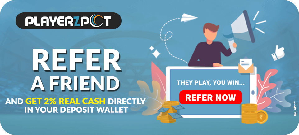 Refer and Earn | PlayerzPot
